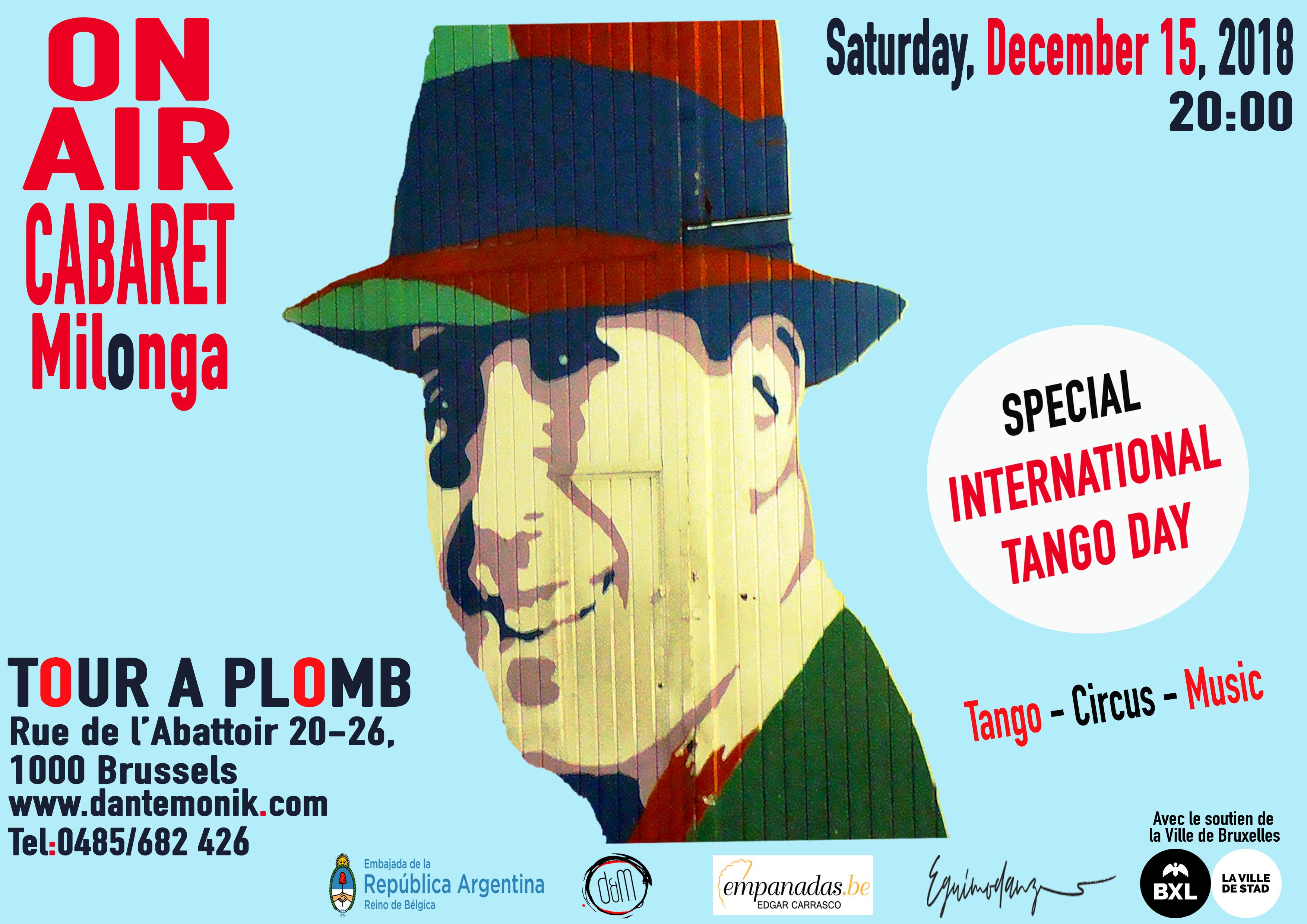 Agenda Milonga Tango In Belgium